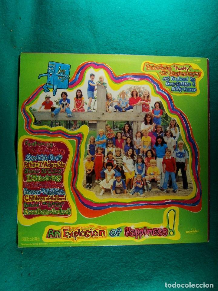 Discos de vinilo: THE KIDS PRAISE ALBUM-LP-MADE IN ENGLAND-MARANATHA-MUSICA CRISTIANA PARA NIÑOS-1981. - Foto 2 - 186338701