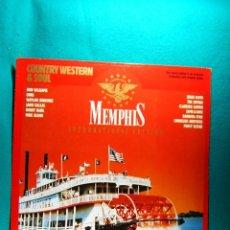 Discos de vinilo: COUNTRY WESTERN & SOUL-MEMPHIS INTERNATIONAL EDITION-LP COLOR ROJO-MADE IN GERMANY-1989 ?.. Lote 186340253
