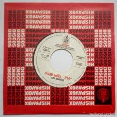 Discos de vinilo: LOS ANGELES - ABRE TU VENTANA / OYEME NIÑA - SINGLE PROMOCIONAL 1971 - HISPAVOX. Lote 186340436