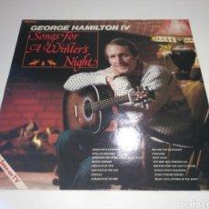 Discos de vinilo: GEORGE HAMILTON IV - SONGS FOR A WINTER'S NIGHT (LP). Lote 186340542