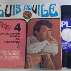 Discos de vinilo: LUIS AGUILE. 4 CANCIONES PARA EL VERANO. SONOPLAY. SBP. 10.057. Lote 186340877