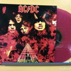 Disques de vinyle: AC/DC LP HIGHWAY TO HELL VINILO COLOR MORADO EDICIÓN AUSTRALIANA PORTADA DISTINTA MUY RARO. Lote 151070810