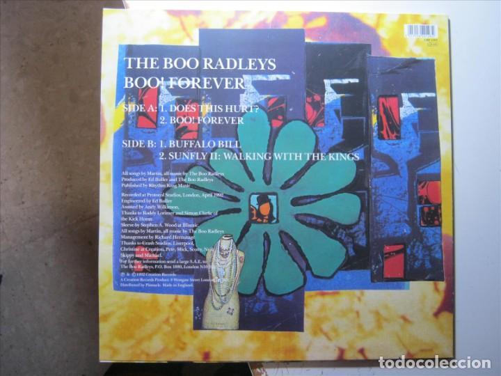Discos de vinilo: THE BOO RADLEYS MAXI VINILO BLANCO BOO! FOREVER NUEVO A ESTRENAR!!! - Foto 2 - 186346688