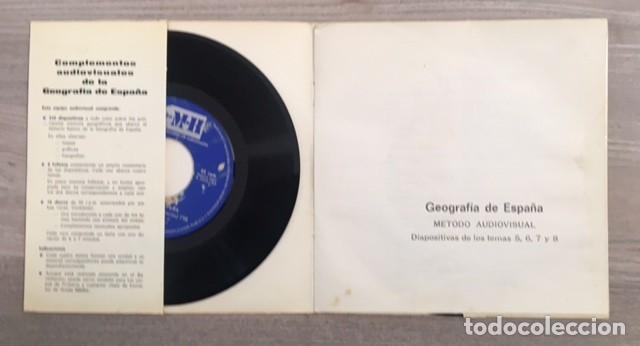 Discos de vinilo: GEOGRAFÍA DE ESPAÑA - COMPLEMENTO AUDIOVISUAL - DOS DISCOS - Foto 2 - 186352387