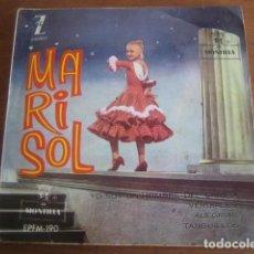 Discos de vinilo: MARISOL - YO SOY UN HOMBRE DE CAMPO + 3 ******** RARO EP 1961. Lote 186353050