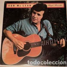 Discos de vinilo: DON MCLEAN ‎– PLAYIN' FAVORITES . Lote 186353102