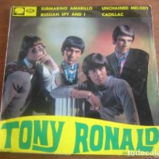 Discos de vinilo: TONY RONALD - RUSSIAN SPY AND I + 3 ******** RARO EP MOD BEAT 1966. Lote 186353140