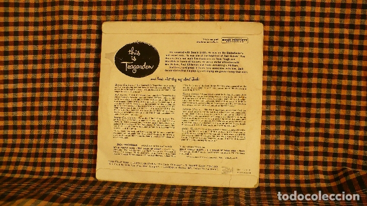 Discos de vinilo: Jack Teagarden – This Is Teagarden! Part 1, Capitol Records – 1-721,1956, temas en descripción-- - Foto 2 - 186353411