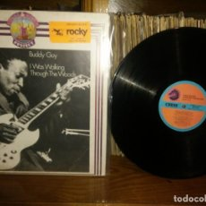 Discos de vinilo: BUDDY GUY - I WAS WALKING THROUGH THE WOODS . Lote 186355447