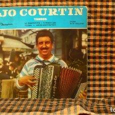 Discos de vinilo: JO COURTIN Y SU CONJUNTO – TANGOS, DISCOPHON – 27.034, 1961, TEMAS EN DESCRIPCIÓN--. Lote 186355663