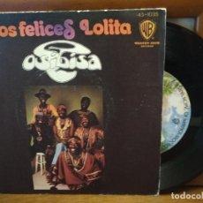 Discos de vinilo: OSIBISA NIÑOS FELICES SINGLE SPAIN 1974 PDELUXE. Lote 186355960