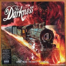 Discos de vinilo: THE DARKNESS // ONE WAY TICKET TO HELL... AND BACK // LP 2005. Lote 186357212