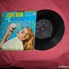Discos de vinilo: LA DOLCE VITA SINGLE RCA 1961 RAY ELLIS VER FOTO. Lote 186359021