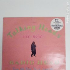 Discos de vinilo: TALKING HEADS RADIO HEAD / HEY NOW ( 1988 EMI UK ) DAVID BYRNE. Lote 186359726