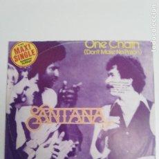 Discos de vinilo: SANTANA ONE CHAIN / WHAM ( 1978 CBS HOLLAND ) INNER SECRETS. Lote 186360235