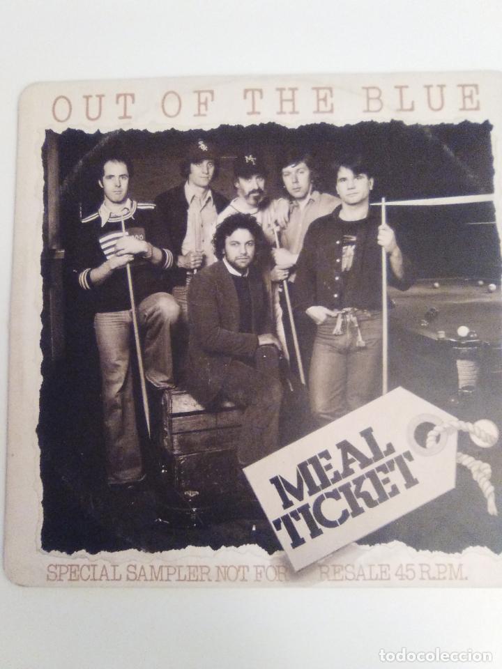MEAL TICKET OUT OF THE BLUE / DAY JOB / MAN FROM MEXICO / GEORGIA SYNCOPATOR ( 1977 EMI UK ) (Música - Discos de Vinilo - Maxi Singles - Pop - Rock Extranjero de los 70)