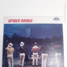Discos de vinilo: SPIDER BRIDGE BACKS TO THE WALL ( 1982 OLD HOMESTEAD RECORDS USA ) EXCELENTE ESTADO. Lote 186361318
