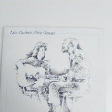 Discos de vinilo: ARLO GUTHRIE AND PETE SEEGER WITH SHENANDOAH PRECIOUS FRIEND 2LP ( 1982 WARNER BROS USA ). Lote 186361548