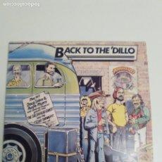 Discos de vinilo: DOUG SAHM AUGIE MEYERS SIR DOUGLAS QUINTET BACK TO THE DILLO 1977 ( 1983 SONET SW ) TEXAS TORNADOS. Lote 186361952