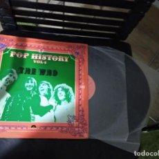 Discos de vinilo: THE WHO / POP HISTORY VOL 4 / LP DOBLE 33 RPM / POLYDOR SPAIN 1971. Lote 186363937