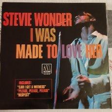 Discos de vinilo: RARO! STEVIE WONDER. I WAS MADE TO LOVE HER. SNL1- 60146. ESPAÑA. MOTOWN. SOUL/FUNK.. Lote 186368046