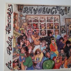 Discos de vinilo: POLLA RECORDS- REVOLUCION!- 1ª EDICION SOÑUA- LP- 1985 + ENCARTE.. Lote 186378865
