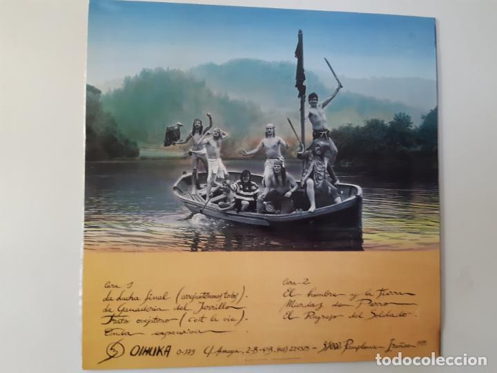 Discos de vinilo: TIJUANA IN BLUE- ¡ SOPLA SOPLA! - 1ª EDICION OIHUKA - LP- 1989 + ENCARTE. - Foto 2 - 186379342