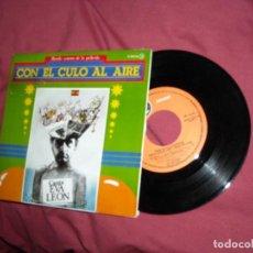 Discos de vinilo: CON EL CULO AL AIRE EP PROMOCIONAL BANDA SONORA VER FOTO. Lote 186391580