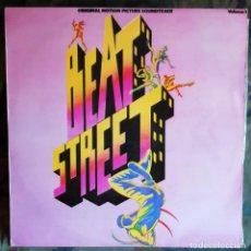 Discos de vinilo: BEAT STREET- VOLUME 1 LP, PORTUGAL HIP HOP AFRIKA BAMBAATAA,GRANDMASTER MELLE MEL & THE FURIOUS,ETC. Lote 186398526