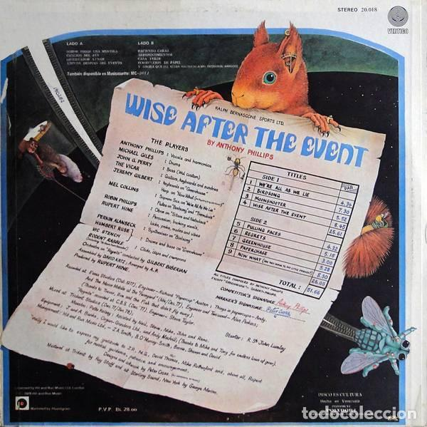 Discos de vinilo: Anthony Phillips – Wise After The Event - Foto 2 - 186404773