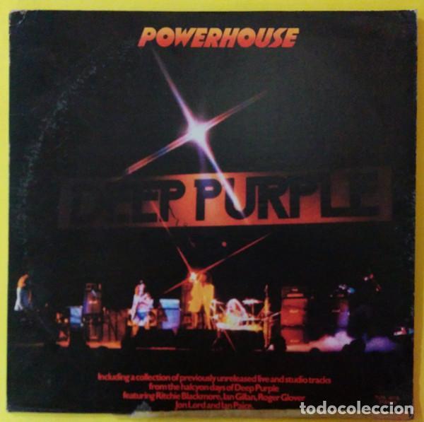 DEEP PURPLE – POWERHOUSE (Música - Discos - LP Vinilo - Rock & Roll)
