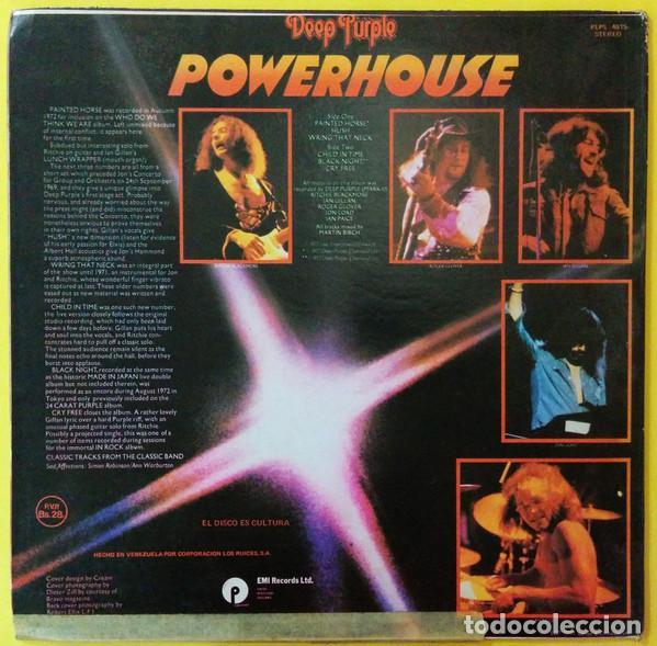 Discos de vinilo: Deep Purple – Powerhouse - Foto 2 - 186404947