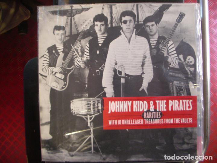 JOHNNY KIDD & THE PIRATES- RARITIES. LP. (Música - Discos - LP Vinilo - Rock & Roll)