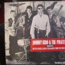 Discos de vinilo: JOHNNY KIDD & THE PIRATES- RARITIES. LP.. Lote 186405450