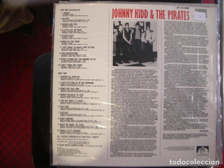 Discos de vinilo: JOHNNY KIDD & THE PIRATES- RARITIES. LP. - Foto 2 - 186405450