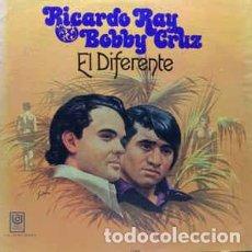 Discos de vinilo: RICARDO RAY, BOBBY CRUZ – EL DIFERENTE . Lote 186405470