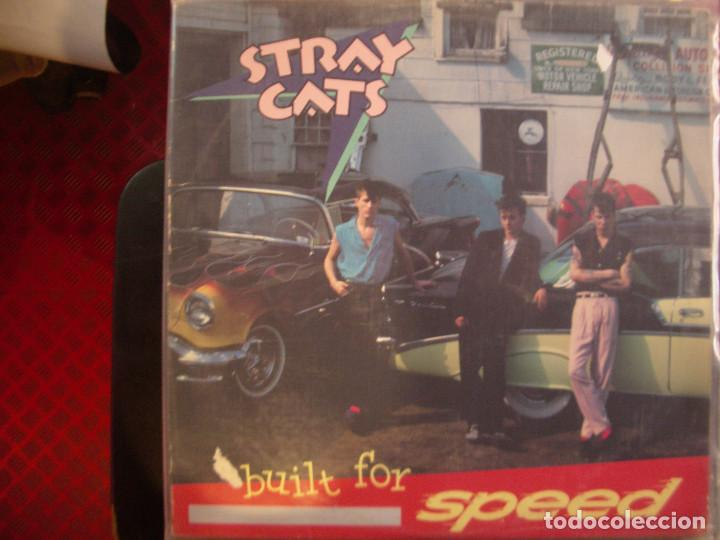 STRAY CATS- BUILT FOR SPEED. LP. (Música - Discos - LP Vinilo - Rock & Roll)