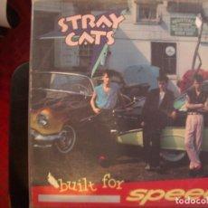Discos de vinilo: STRAY CATS- BUILT FOR SPEED. LP.. Lote 186405808