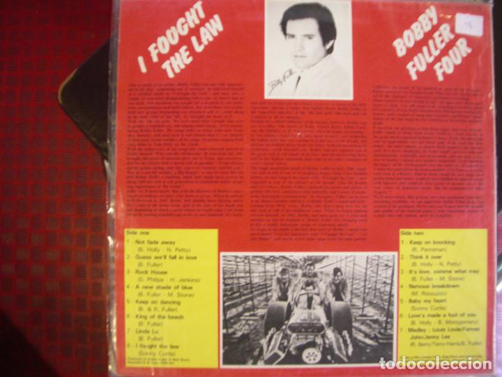 Discos de vinilo: BOBBY FULLER- I FOUGHT THE LAW. LP. - Foto 2 - 186406105