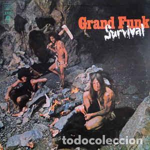 GRAND FUNK RAILROAD – SURVIVAL (Música - Discos - LP Vinilo - Rock & Roll)