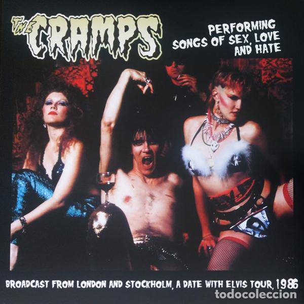 THE CRAMPS PERFORMING SONGS OF SEX, LOVE AND HATE LP . POISON IVY LUX INTERIOR (Música - Discos - LP Vinilo - Rock & Roll)