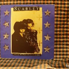 Discos de vinilo: SCARLET ?– I WANNA BE FREE (TO BE WITH HIM) / SO BIG, WEA ?– YZ913, 1995.. Lote 186427887
