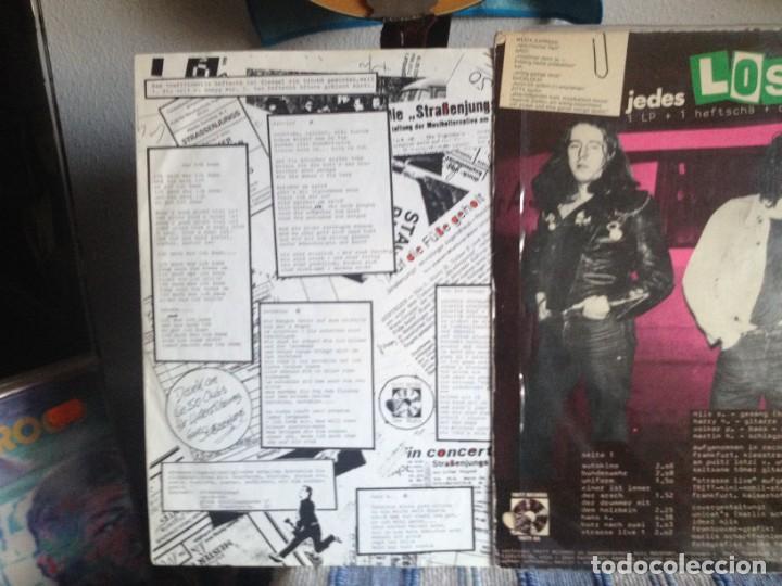 Discos de vinilo: STRASSEN JUNGS - LOS! (PUNK ROCK) / LP VINYL MADE IN GERMANY1981. COVER VG+ VINYL NM - Foto 3 - 186429227