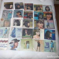 Discos de vinilo: SANDIE SHAW / LOTE 22 EP + 3 SINGLES 45/ EDICIONES ESPAÑOLAS Y FRANCESAS. Lote 186429468