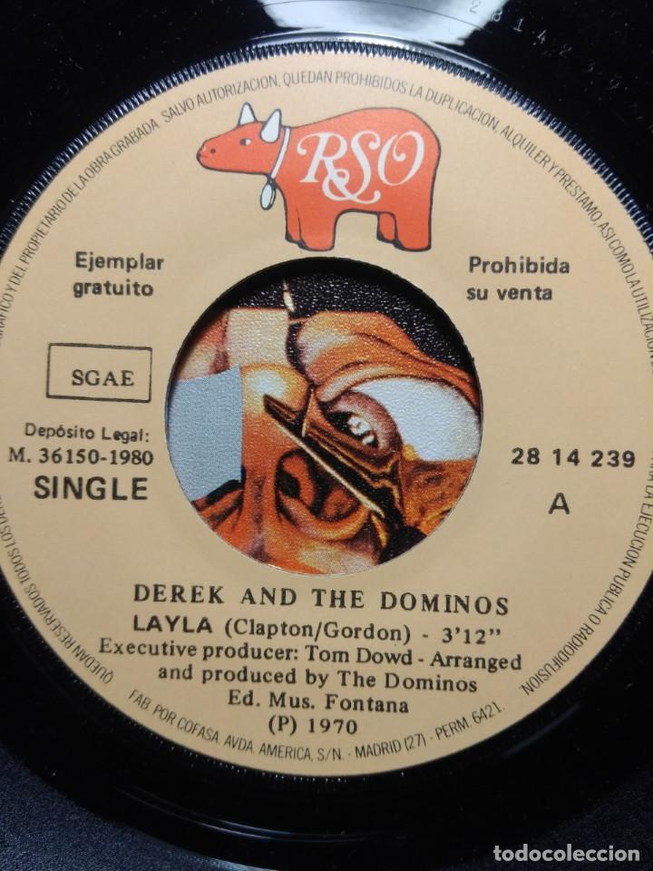 Discos de vinilo: RARO SINGLE EDICION COLECCIONISTAS : DEREK AND THE DOMINOS ( ERIC CLAPTON) + PROCOL HARUM - Foto 6 - 186429565