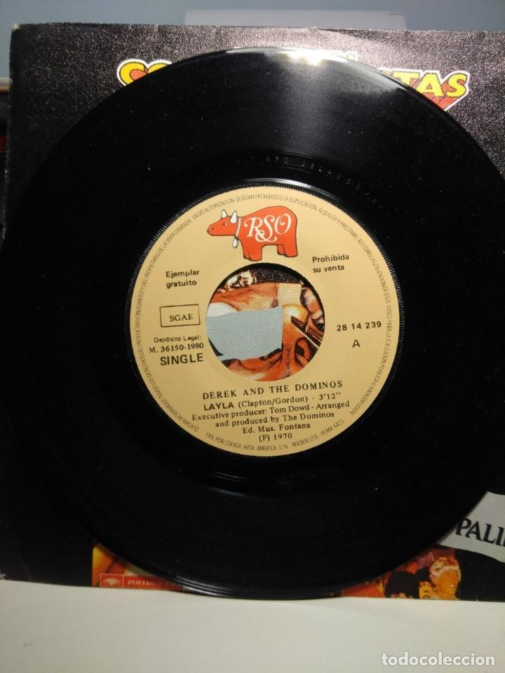 Discos de vinilo: RARO SINGLE EDICION COLECCIONISTAS : DEREK AND THE DOMINOS ( ERIC CLAPTON) + PROCOL HARUM - Foto 7 - 186429565