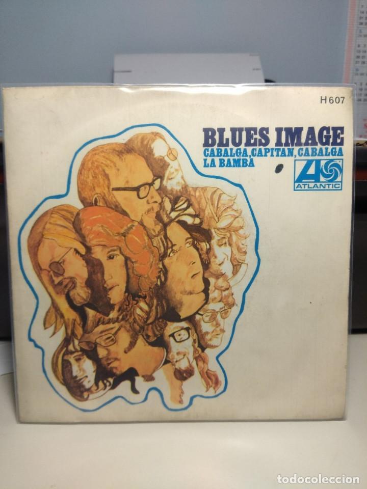 SG BLUES IMAGE : CABALGA CAPITAN CABALGA ( RIDE CAPTAIN RIDE ) (Música - Discos - Singles Vinilo - Pop - Rock Extranjero de los 50 y 60)