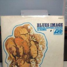 Discos de vinilo: SG BLUES IMAGE : CABALGA CAPITAN CABALGA ( RIDE CAPTAIN RIDE ) . Lote 186431095