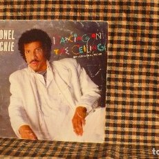 Discos de vinilo: LIONEL RICHIE – DANCING ON THE CEILING / LOVE WILL FIND A WAY,MOTOWN – SPBO 60253, 1986.. Lote 186431198