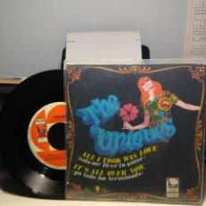 Discos de vinilo: SG THE UNIQUES : ALL I TOOK WAS LOVE . Lote 186431737